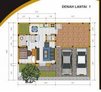 denah the residence