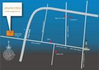 peta lokasi aruna citra town house