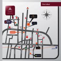 peta lokasi bale mulia residence