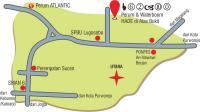 peta lokasi hade di atas bukit