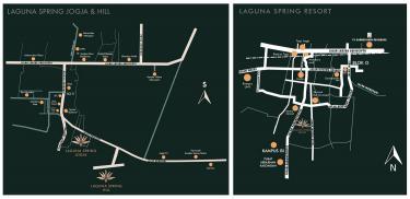 peta lokasi laguna Spring
