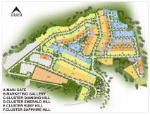 siteplan CitraSun Garden Semarang
