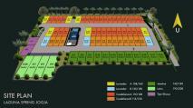 site plan laguna spring jogja