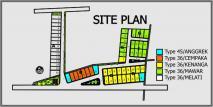 site plan taman pleret asri