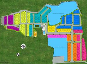 Site Plan THE PARADISE
