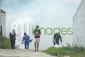 BTN CSR Fogging Covid-19 di Arthaka Village#1