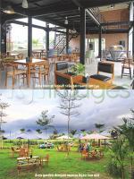 Area lounge dan area garden