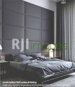 Contoh Aplikasi Wall Cushion di Dinding