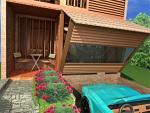 Rumah Berbahan Material Lokal