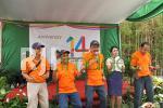 Anniversary 14 tahun Merapi Arsita Graha
