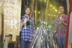 Ibrahim Nur Hidayat beserta Ricky Zaenal