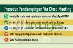 Prosedur Pendampingan Via Cloud Meeting